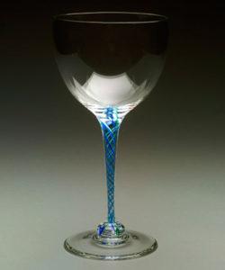Alex Kalish blue wine