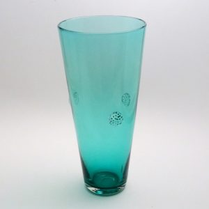 Jordana - tall teal vase 500