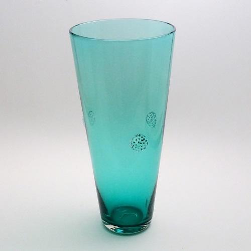 Jordana – tall teal vase 500