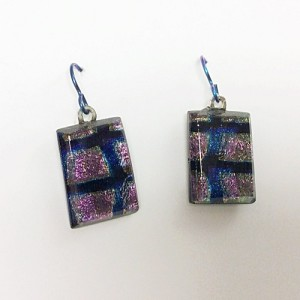 Kuminski bl,pink earrings CK05b 500
