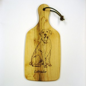 Labrador Cutting Board