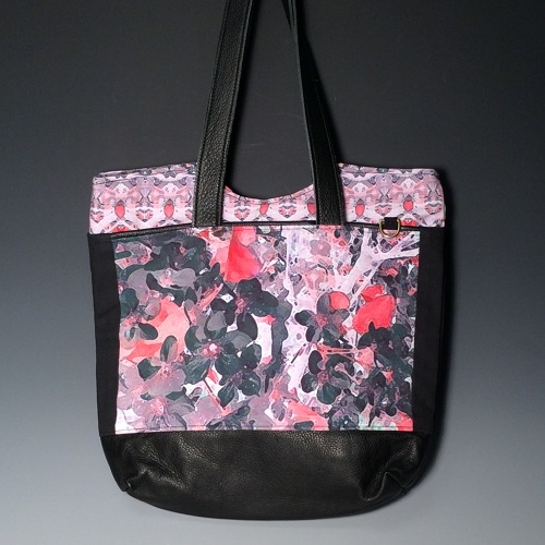 Nancy Adams Tote-pinks APPL01