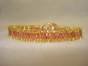 Slinky - Rose with Gold 1