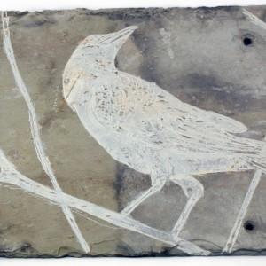 crow slate detail
