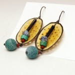 polymer clay earrings 2