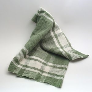 towell green plaid 500