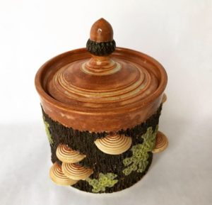 woods and waters pottery- canister