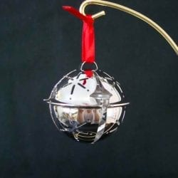The League of NH Craftsmen's 1999 Annual Ornament.