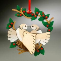 The League of NH Craftsmen's 2010 Annual Ornament