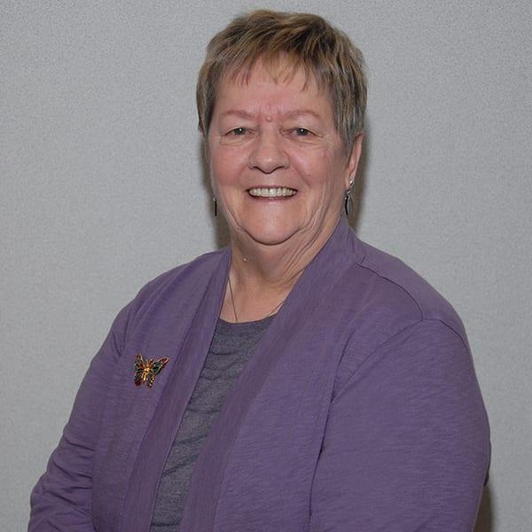 Board Vice President, Bev Taylor