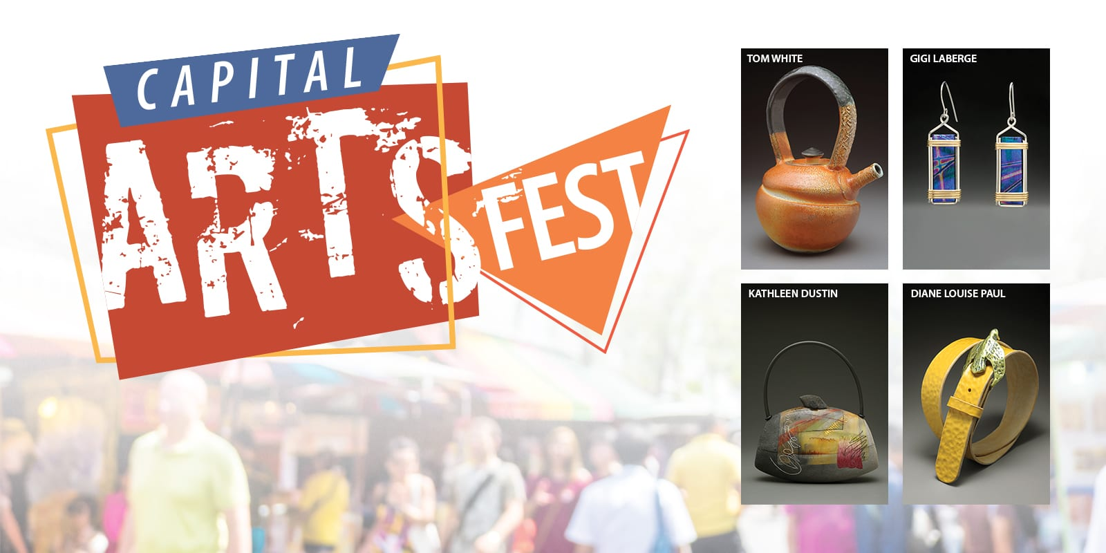 The Capital Arts Fest is on Main Street in Concord NH during September 28 - 30.