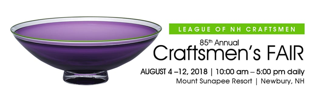League of NH Craftsmen - Sunapee craft fair